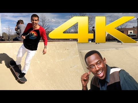 4K Skateboarding Entertainment