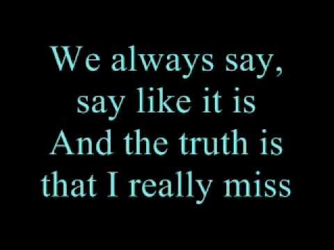 ♡ Avril Lavigne - Wish You Were Here, Lyrics video