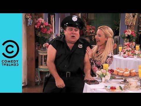 Phoebe's Surprise Stripper (Danny Devito) | Friends