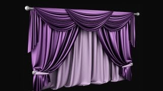 3ds max tutorial Modeling curtain