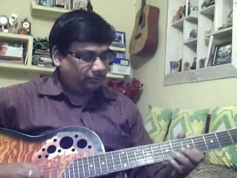 Dil ko tumse pyar hua solo on Guitar