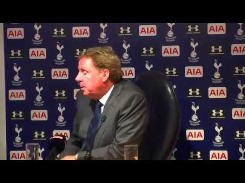#TOTvQPR:  HARRY REDKNAPP'S POST-MATCH PRESS CONFERENCE