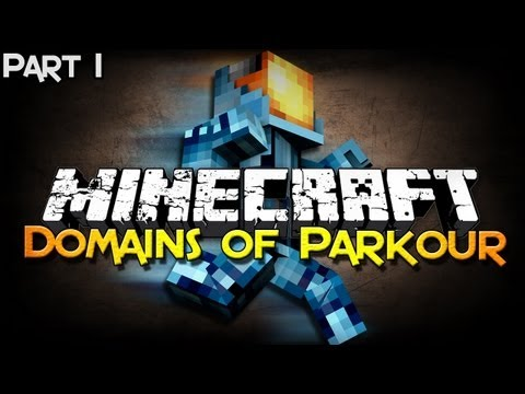 Minecraft: Domains of Parkour (Jungle) - Part 1 - Basics of Training!