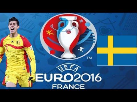 Thibaut Courtois Vs Sweden (Euro 2016) 720p HD