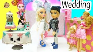 Season 7 Join The Wedding Party Shopkins Watch Bride + Groom Dolls Get Married