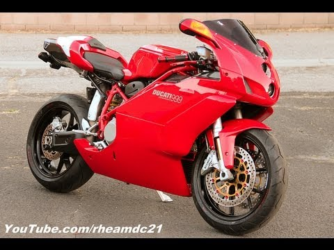 The History Of My Red & Sexy Ducati 999 Superbike (walk Around Video) video