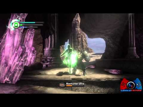 Green Lantern Rise of the Manhunters Walkthrough Part 11 (XBOX 360, PS3, 3DS, WII, DS)