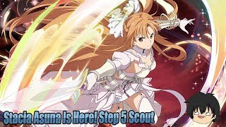Stacia Asuna Is Finally Here In Sword Art Online Memory Defrag! Step 5 Scout For Stacia Asuna!