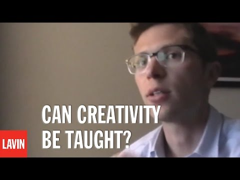 Neuroscience Speaker Jonah Lehrer: Can Creativity Be Taught?