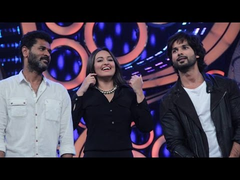Gandi Baat Song Ft. Shahid Kapoor, Prabhu Dheva & Sonakshi Sinha | R...rajkumar | Live Performance video