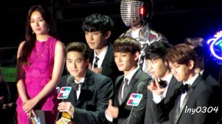 [fancam] 141203 EXO - Artist Of The Year(mainly Baekhyun focus)@MAMA 2014 in HK