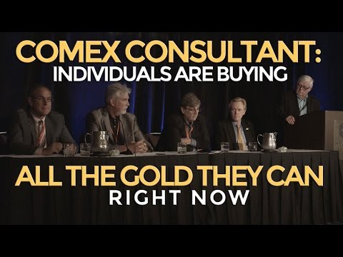 Comex Consultant Says Individuals Buying all The Gold They Can