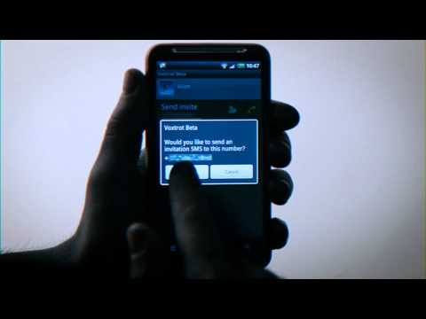Voxtrot - free calls on Android™ (2) How to?