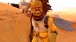 Star Wars Battlefront: THE BOSSK CAVE (Hero Hunt w/Hemps)