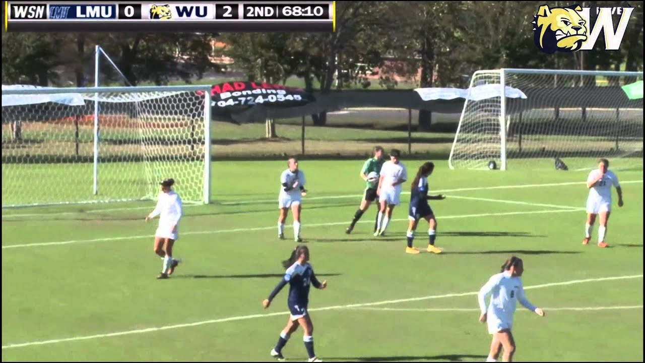2014 Wingate Women's Soccer - Highlights from 3-0 win over ...