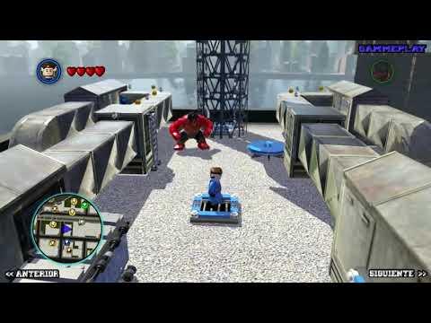 LEGO Marvel Super Heroes Guía - Desbloqueo de Personajes - Parte 11 - Matanza   Carnage