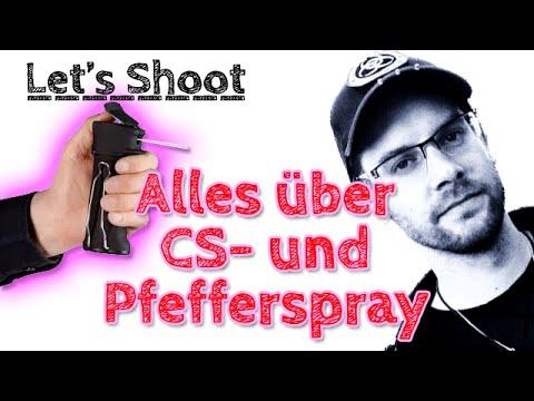 Alles über Pfefferspray/Tränengas/CS-Gas/CN-Gas - Let's Shoot #70