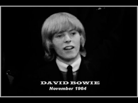 David Bowie's  First  TV Interview - 17 years old