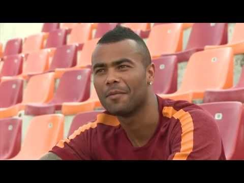 Ashley Cole's first Roma interview