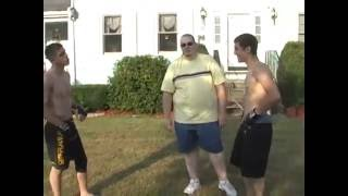 Young UFC Fighter Joe Lauzon Vs Dan Lauzon PART 2