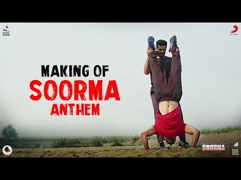 Making Of Soorma Anthem - Diljit Dosanjh | Taapsee Pannu | Shankar Ehsaan Loy | Gulzar