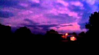 Thunderstorm southwest KS