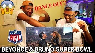 Download Lagu Beyoncé & Bruno Mars Crash the Pepsi Super Bowl 50 Halftime Show | NFL (REACTION) Gratis STAFABAND