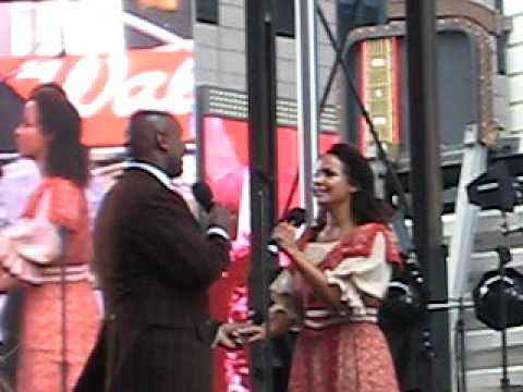 Quentin Earl Darrington and Stephanie Umoh -Wheels of a Dream- Broadway on Broadway 2009