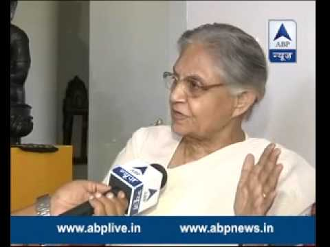 WATCH FULL: Sheila Dikshit supports gazette notification while talking to ABP News