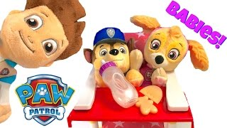 Best Learning Colors Video for Children  - Baby Paw Patrol Pups Skye and Chase