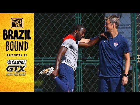 Jozy Altidore returns to training, will he be ready for Belgium? | Brazil Bound on Location