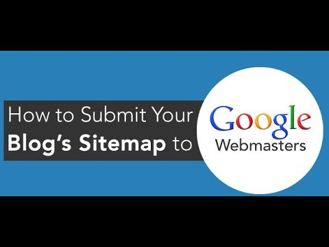 How to submit your blogger post  sitemap using google web master to increase in google search engine