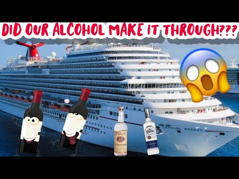 How to SNEAK Alcohol on a CRUISE SHIP!!! | IN WINE BOTTLES!! (Carnival Breeze Jan 25,2020)