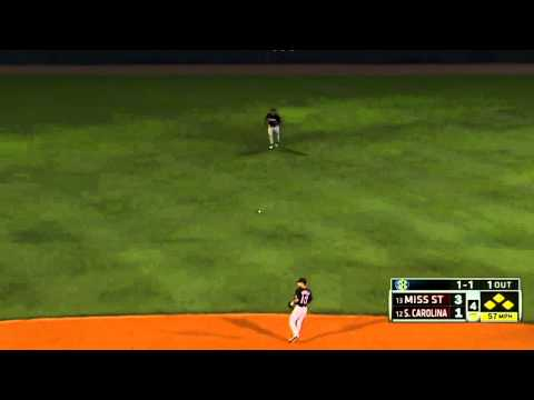 05/22/2013 Mississippi State vs South Carolina Baseball Highlights