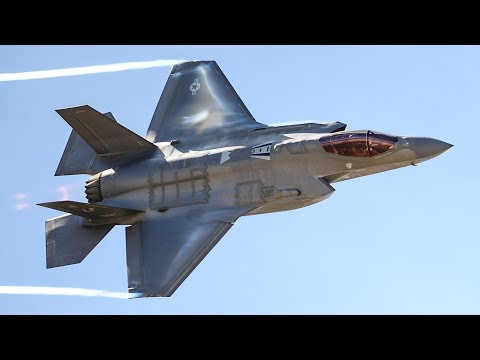 AWESOME F-35 IN ACTION - DROP BOMBS & FLIGHT