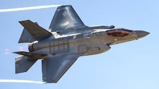 AWESOME F-35 IN ACTION - DROP BOMBS TEST & FLIGHT