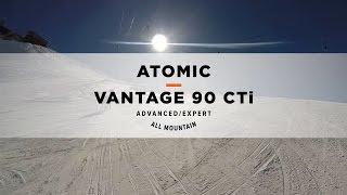 Atomic Vantage 90 CTI Slopeside Ski Review 2016/2017 | Ellis Brigham