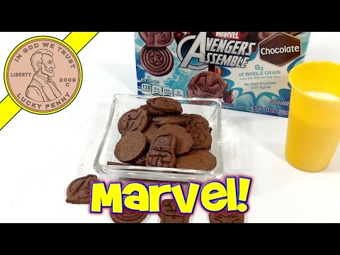 Honey Maid Marvel Avengers Assemble Chocolate Graham Crackers