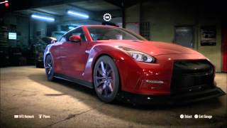 NEED FOR SPEED 2015 BULID NISSAN GTR