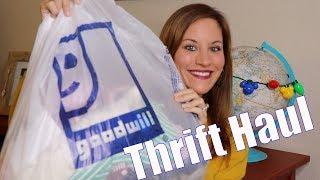 Thrift Haul - November 2018