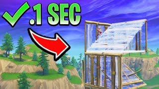 DOUBLE 90 Tips BUILD FAST on Console! How to Build Faster in Fortnite (Ps4/Xbox Building Tips)