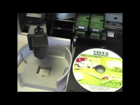 Inkjet Printing on CDs, DVDs, Blu-rays