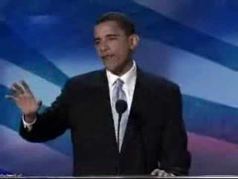 Barack Obama - Highlights from the 2004 Convention