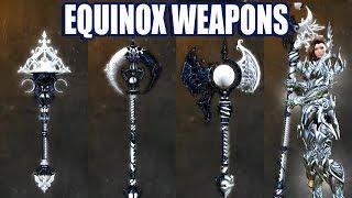 Equinox Weapon Skins ● Guild Wars 2