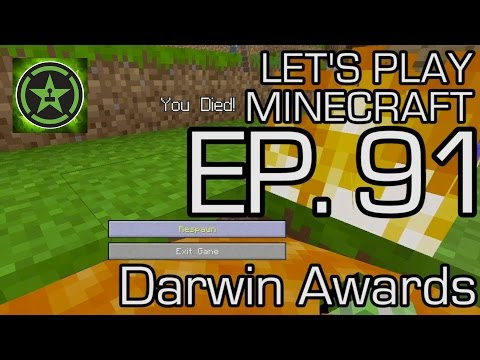 Lets Play Minecraft Episode 91 Darwin Awards