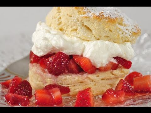 Strawberry Shortcake Recipe Demonstration - Joyofbaking.com