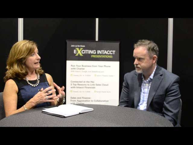 SMB Group talks to Aaron Harris, Chief Technology Officer, Intacct