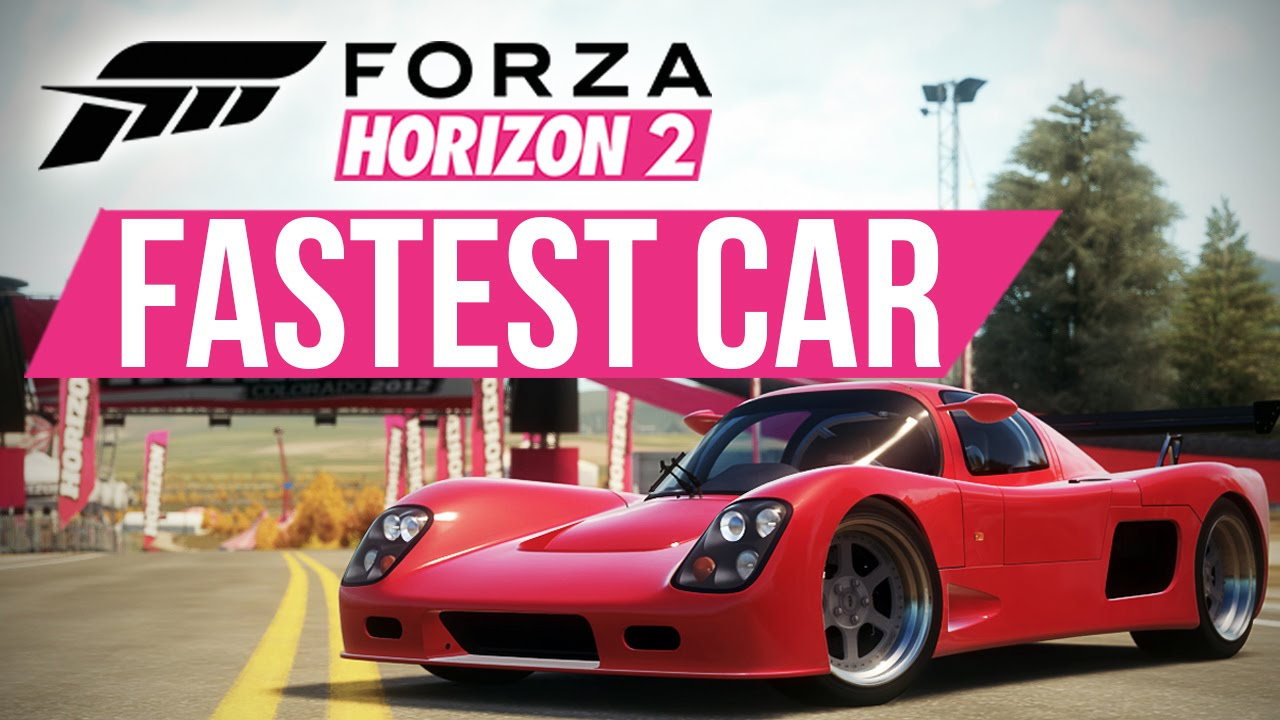What Is The Fastest Car In Horizon