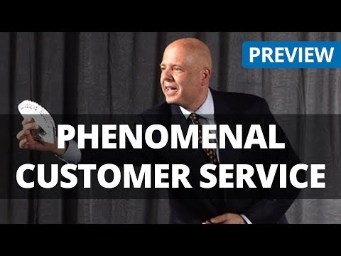 Phenomenal Customer Service - Shep Hyken - Training Video