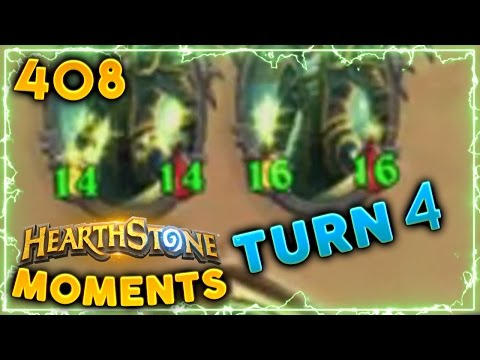 Rogue Turn 4 Power!! | Hearthstone Un'Goro Daily Moments Ep. 408 (Funny and Lucky Moments)